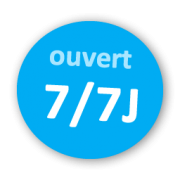 Ouvert 7/7J